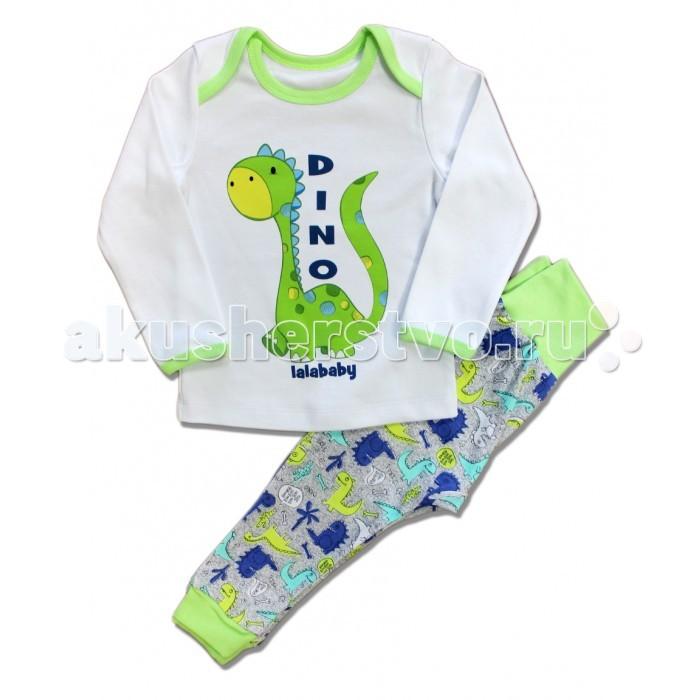 Пижамы и ночные сорочки LalaBaby Пижама Дино пижамы артишок пижама герой