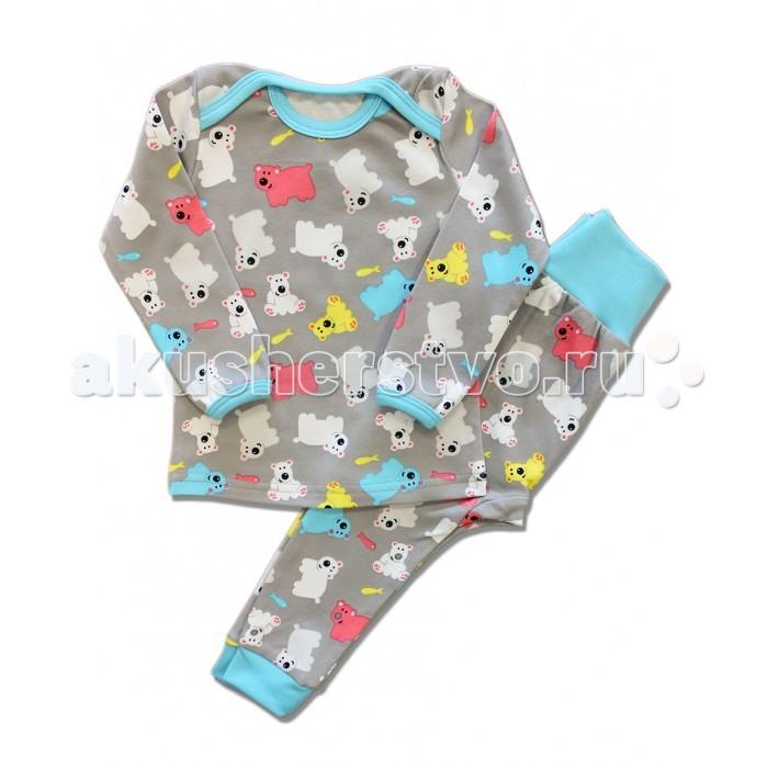 Пижамы и ночные сорочки LalaBaby Пижама длинный рукав (кофточка и штанишки) 801-042