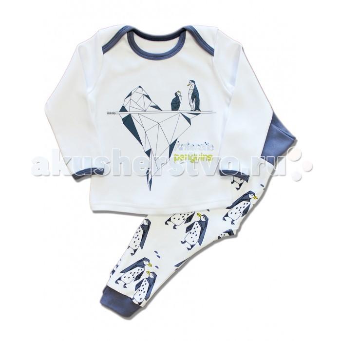 Пижамы и ночные сорочки LalaBaby Пижама длинный рукав (кофточка и штанишки) 801-054