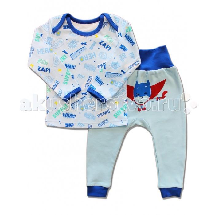 Пижамы и ночные сорочки LalaBaby Пижама длинный рукав (кофточка и штанишки) 821-009