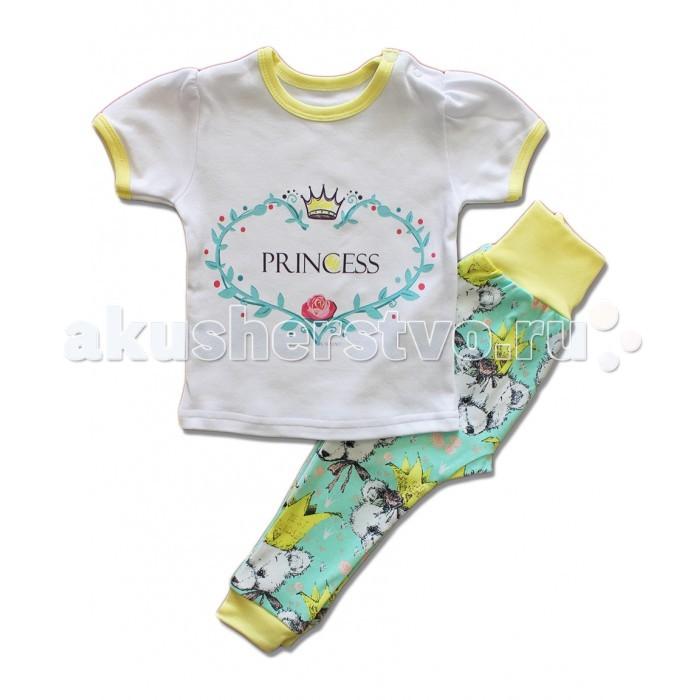 Пижамы и ночные сорочки LalaBaby Пижама (футболка и штанишки) Принцесса