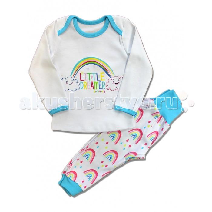 Пижамы и ночные сорочки LalaBaby Пижама Little Dreamer пижамы и ночные сорочки lp collection пижама для детей 26 1772