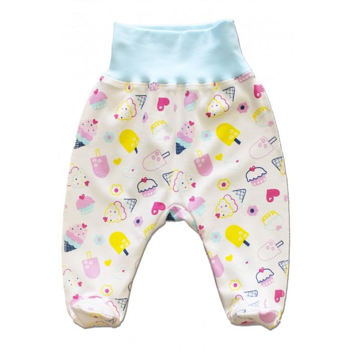 Ползунки LalaBaby Ползунки для девочки Пироженки комплекты детской одежды lalababy комплект 911 054