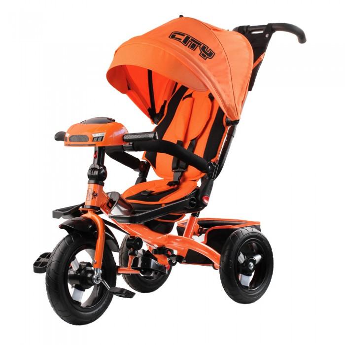 Детский транспорт , Трехколесные велосипеды City 12/10 арт: 533156 -  Трехколесные велосипеды