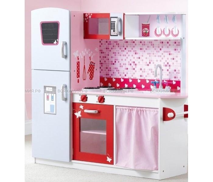 Кукольные домики и мебель Lanaland Игровая кухня 110х30х104 см