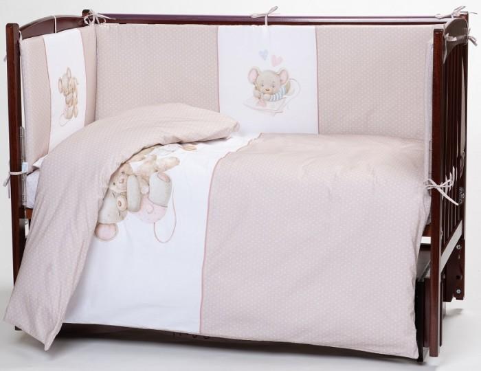 Комплект в кроватку Lappetti  Little mouse (6 предметов)