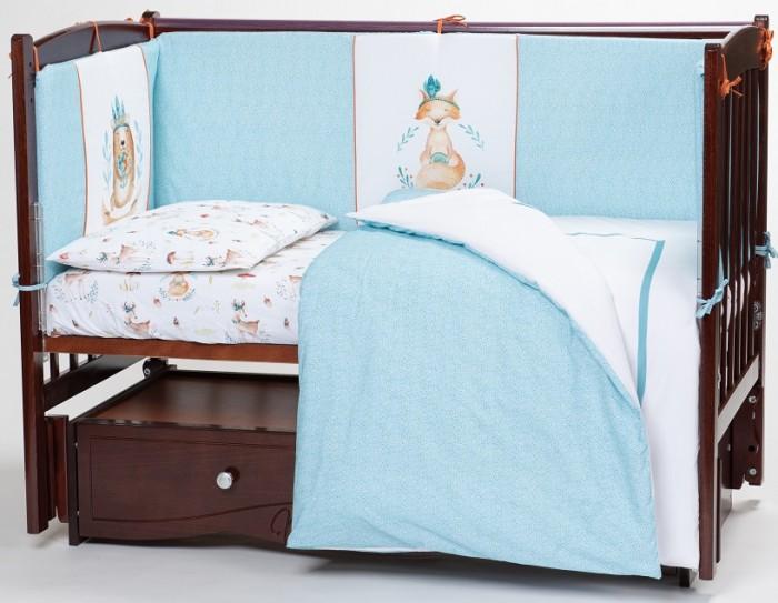 Комплект в кроватку Lappetti  Волшебный лес (6 предметов)