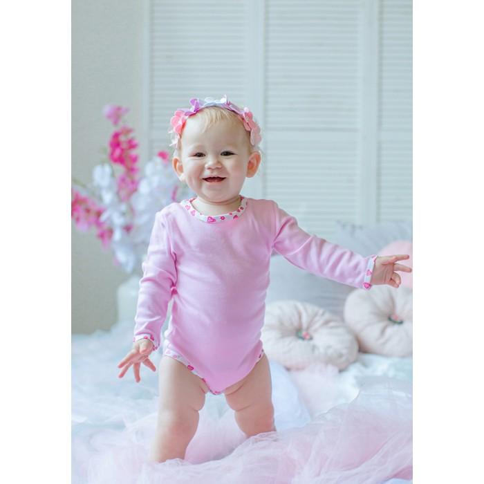 Боди и песочники Лапушка Боди для девочки Сердечки с108и костюм милой снежной девочки 42