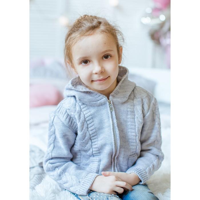 Детская одежда , Распашонки и кофточки Лапушка Джемпер на молнии Вязанные изделия арт: 366773 -  Распашонки и кофточки