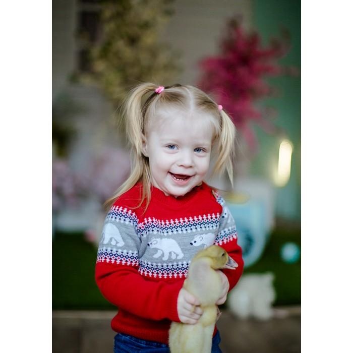 Детская одежда , Распашонки и кофточки Лапушка Джемпер на пуговицах Вязанные изделия в105-пш арт: 367843 -  Распашонки и кофточки