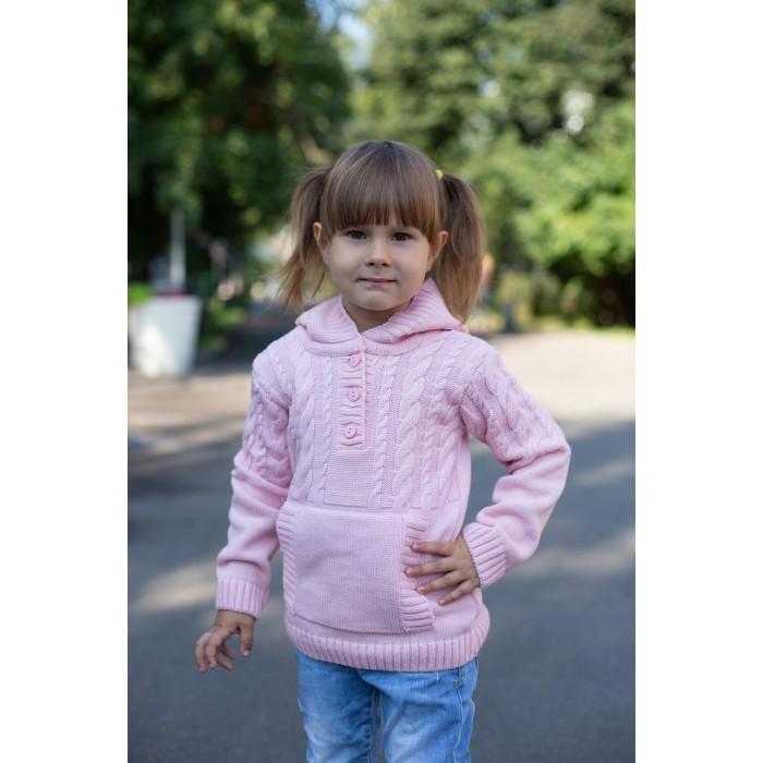 Детская одежда , Распашонки и кофточки Лапушка Джемпер на пуговицах Вязанные изделия арт: 366738 -  Распашонки и кофточки
