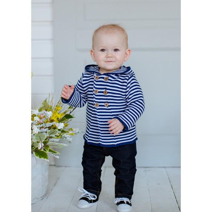 Детская одежда , Распашонки и кофточки Лапушка Кофточка с капюшоном Вязанные изделия арт: 367833 -  Распашонки и кофточки