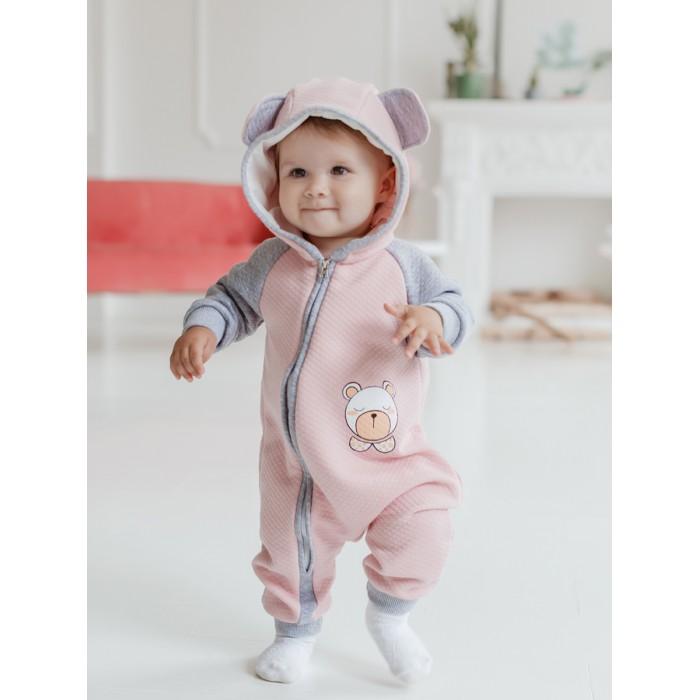 Лапушка Комбинезон с капюшоном Мишка фото