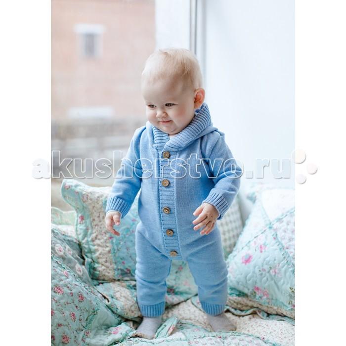 Детская одежда , Комбинезоны и полукомбинезоны Лапушка ***Комбинезон вязаный Вязаные изделия арт: 422099 -  Комбинезоны и полукомбинезоны