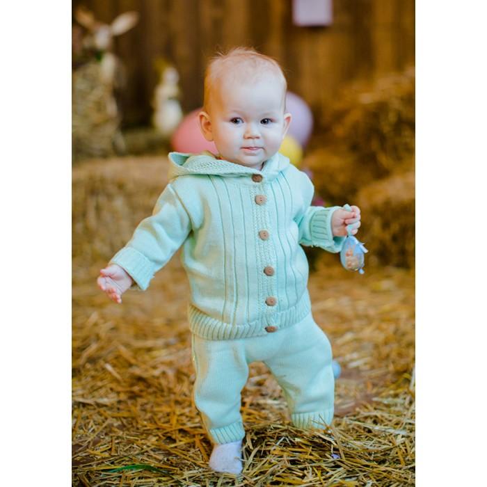 Комплекты детской одежды Лапушка Комплект (кофточка и ползунки) Вязанные изделия