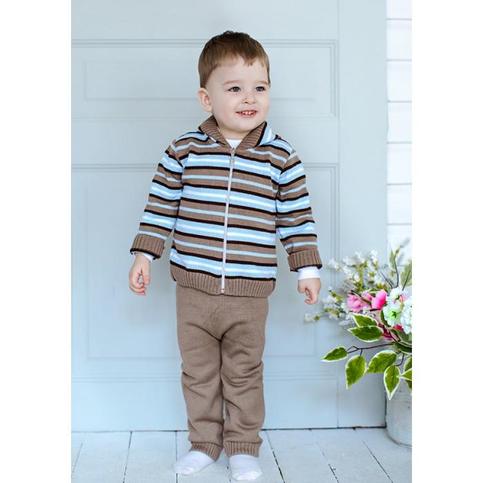 Детская одежда , Комплекты детской одежды Лапушка Комплект (кофточка и штанишки) Вязанные изделия арт: 366698 -  Комплекты детской одежды