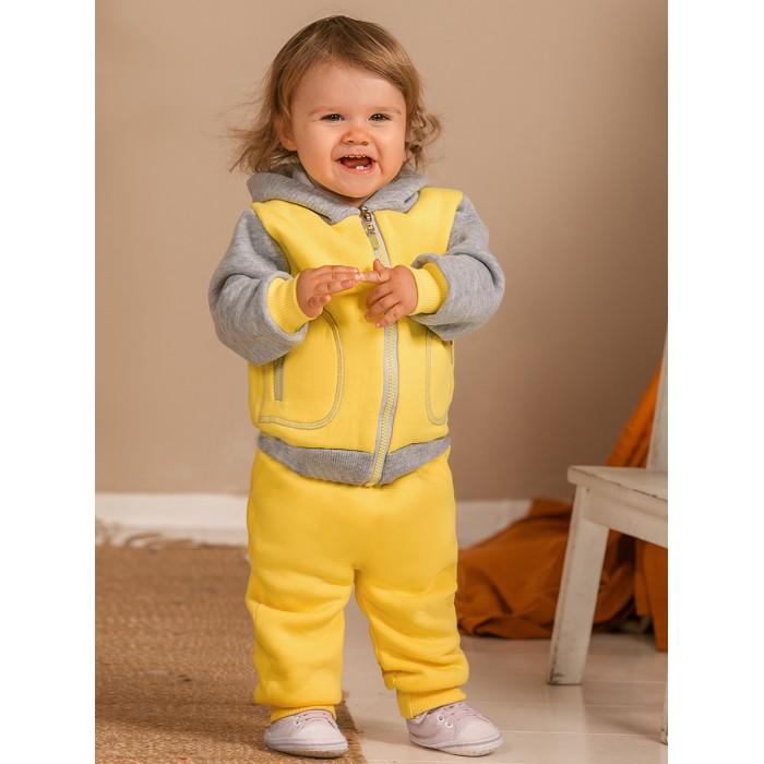 Комплекты детской одежды Лапушка Костюм (кофта с капюшоном, брюки) Футер