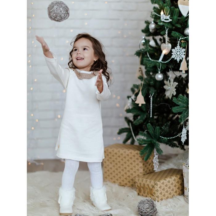 Лапушка Платье для девочки с кружевом в206-хл фото