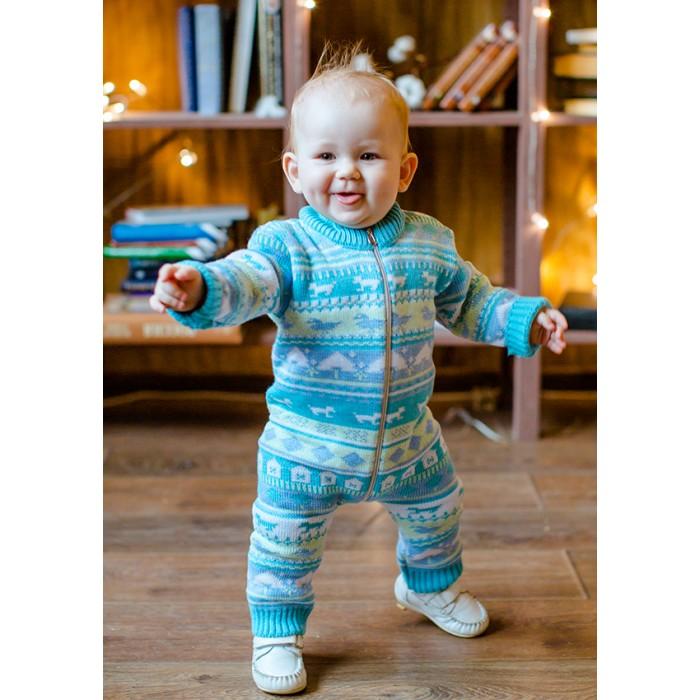 Детская одежда , Комбинезоны и полукомбинезоны Лапушка Полукомбинезон Вязанные изделия арт: 366688 -  Комбинезоны и полукомбинезоны