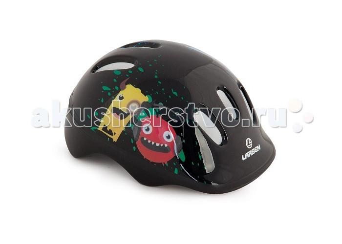 Шлемы и защита Larsen Шлем роликовый Monsters гантель larsen nt169s s образная 1000g