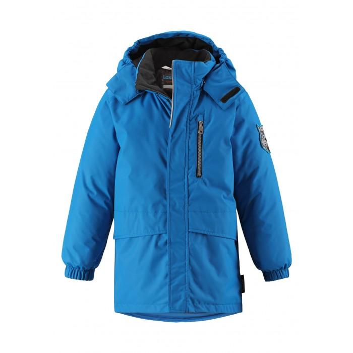 Lassie Куртка зимняя 721737Куртки, пальто, пуховики<br>Lassie by Reima Куртка зимняя 721737   Эта повседневная, но очень стильная детская зимняя парка идеальна для снежных и морозных зимних дней! Удлиненная задняя часть обеспечивает дополнительное утепление, а отделка из искусственного меха защищает нежную детскую кожу от морозного ветра. Съемный капюшон безопасен во время игр на свежем воздухе. Большие карманы с клапанами сохранят ключи от дома и другие важные мелочи.  Основные швы проклеены и не пропускают влагу Водо и ветронепроницаемый, «дышащий» и грязеотталкивающий материал (Воздухопроводимость 2000 г/м2/24ч, Толщина слоя воды 1000 мм, Устойчивость к истиранию Прочный  20000 циклов по Мартиндейлу) Гладкая подкладка из полиэстера Безопасный отстегивающийся и регулируемый капюшон Регулируемый подол, эластичные манжеты Логотип сзади. Светоотражающие детали Карманы с клапанами  Состав: 100% Полиэстер, ПУ-покрытие, подкладка - 100% полиэстер, утеплитель - 100% полиэстер 180 гр  Уход: Стирать по отдельности, вывернув наизнанку. Застегнуть молнии и липучки. Соблюдать температуру в соответствии с руководством по уходу. Стирать моющим средством, не содержащим отбеливающие вещества. Полоскать без специального средства. Сушение в сушильном шкафу разрешено при  низкой температуре.