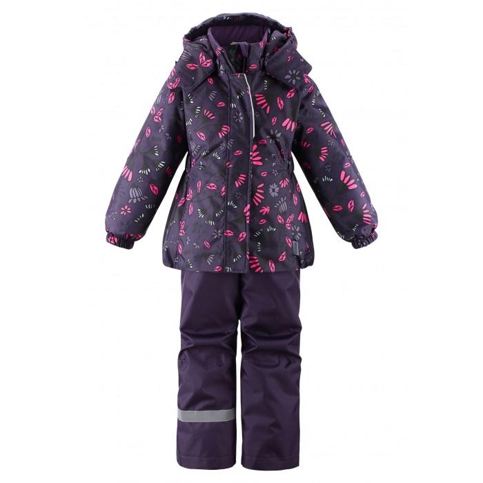 Купить Утеплённые комплекты, Lassie Комплект зимний (куртка, полукомбинезон) Цветочки 723734 2020