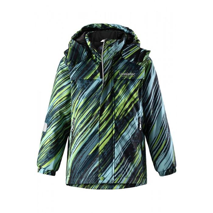 Lassie by Reima Куртка зимняя 721710Куртка зимняя 721710Lassie by Reima Куртка зимняя 721710 для детей Lassietec®.  Особенности: водо- и ветронепроницаемый, «дышащий» и грязеотталкивающий материал внешние швы проклеены гладкая подкладка из полиэстра безопасный, съемный капюшон эластичные манжеты регулируемый подол молния спереди карманы на молнии светоотражающие детали от 0 -20  Вес утеплителя: 140 г<br>