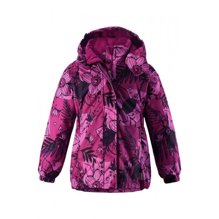 Lassie by Reima Куртка зимняя 721714Куртка зимняя 721714Lassie by Reima Куртка зимняя 721714 для детей.  Особенности: водоотталкивающий, ветронепроницаемый и «дышащий» материал крой для девочек гладкая подкладка из полиэстра средняя степень утепления безопасный, съемный капюшон эластичные манжеты эластичная кромка подола карманы в боковых швах от -10 -30  Вес утеплителя: 180 г<br>