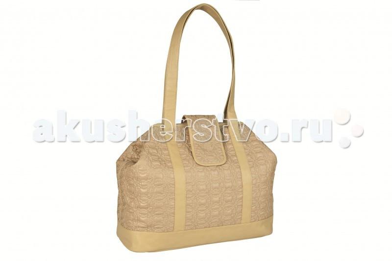 Lassig Сумка Мэри ГламурСумка Мэри ГламурЖенственная, элегантная, вместительная сумка для мам Мэри. Может быть использована краями наружу для придания ей большей вместимости, или вовнутрь, превращаясь в изысканный аксессуар. В комплекте имеется стильный компактный клатч на ремешке, который можно носить отдельно, либо использовать как часть сумки, например, в виде косметички или сумочки для мелких принадлежностей малыша.   Сумка содержит: удобное большое внутреннее отделение, пеленальный коврик с антибактериальным покрытием, термос для бутылочки, клатч для мелких детских принадлежностей или для использования отдельно, водонепроницаемый карман с антибактериальным покрытием, съемные кармашки для питания, универсальные крепления на коляску, дополнительный ремень через плечо.   Сделана из безопасных материалов, не причиняющих вреда человеку и окружающей среде. Не выгорает на солнце, обладает водо- и грязеотталкивающими свойствами, легко обрабатывается и стирается.  Материал - 100% полиэстер  «Живи позитивно» - философия торговой марки Lassig, предлагающей креативные, многофункциональные эко-сумки с креплением на коляску для активных родителей. Эстетика, комфорт и забота о малыше - все это прекрасно сочетается в одном аксессуаре. Модели Lassig оснащены несколькими вместительными отделениями, куда можно положить все необходимое. В изделиях предусмотрен непромокаемый карман с антибактериальной пропиткой, куда можно спрятать сменный подгузник или пустышку. Также изделия надежно крепятся к коляске. Винтажные, гламурные, классические сумки станут лучшими помощниками в поездке и на прогулке.<br>