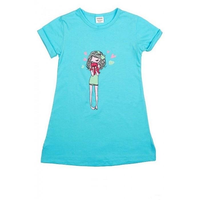 Фото - Домашняя одежда Laura Dofi Ночная сорочка для девочки LDN-112 сорочка ночная для беременных и кормящих 40 недель цвет желтый 180178 размер 46