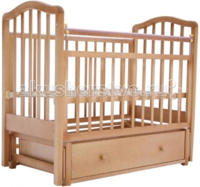 Детские кроватки Лаура 1 маятник поперечный счастливый малыш кроха 2 поперечный маятник ящик венге 014 09
