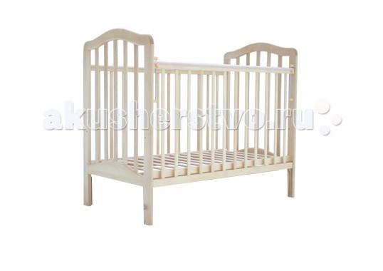 Детская кроватка Лаура 5 без ящика маятник поперечный