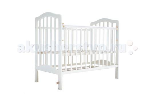 Детские кроватки Лаура 5 без ящика маятник поперечный лаура 3 маятник поперечный без ящика махагон