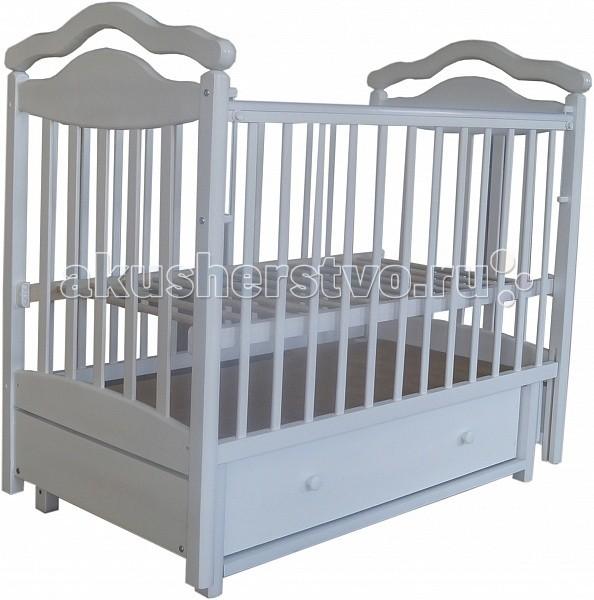 Детские кроватки Лаура 8 маятник поперечный лаура 3 маятник поперечный без ящика махагон