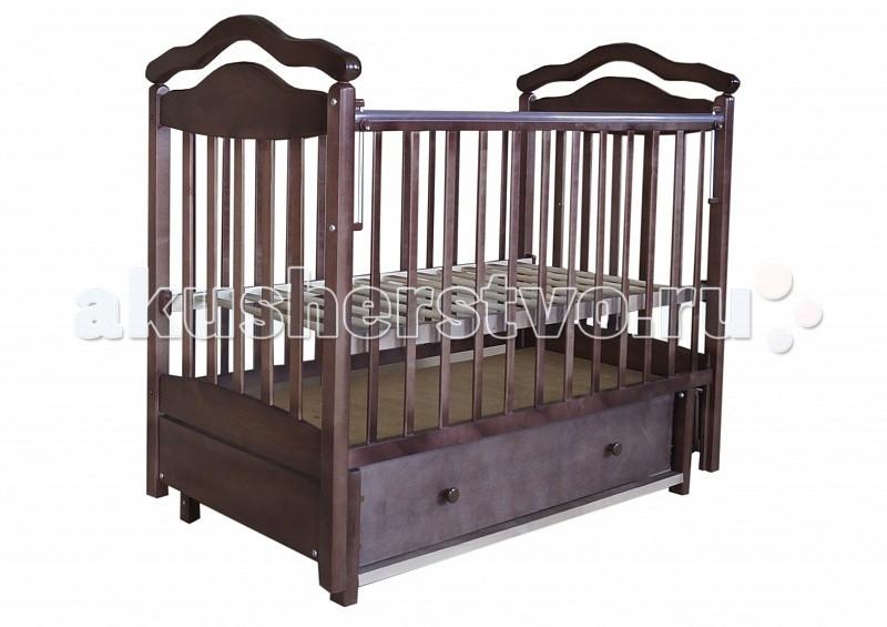 Купить Детские кроватки, Детская кроватка Лаура 8 маятник поперечный