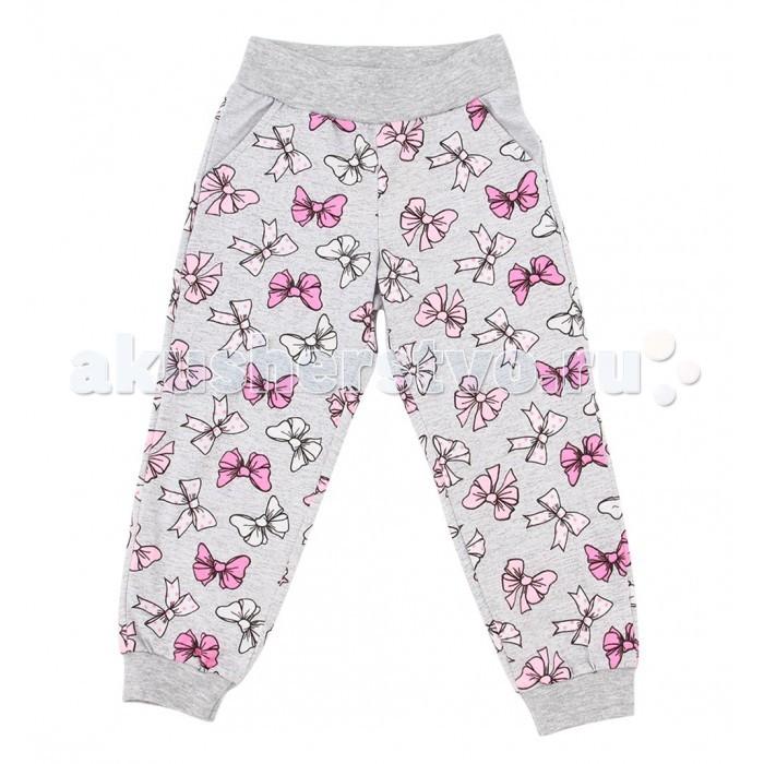 Брюки, джинсы и штанишки Leader Kids Брюки для девочки Бантики