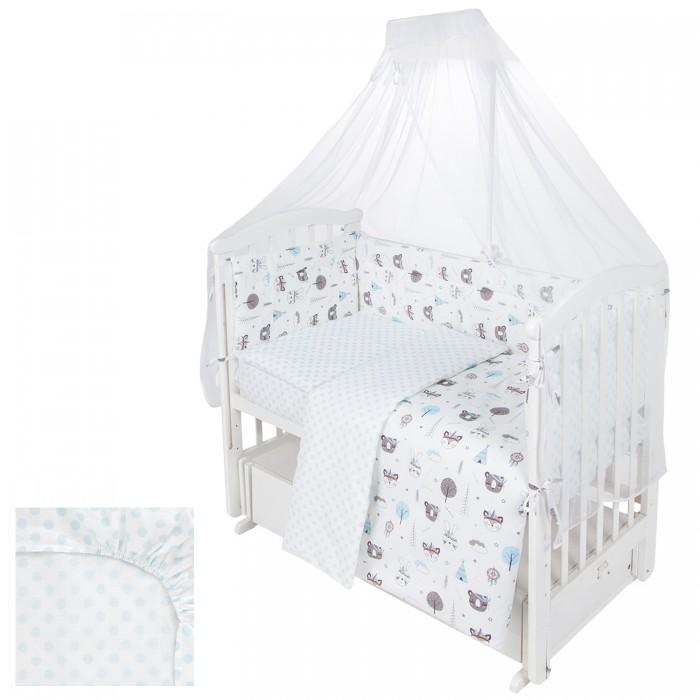 Комплект в кроватку Leader Kids Индейцы Newborn (7 предметов) Индейцы Newborn (7 предметов)