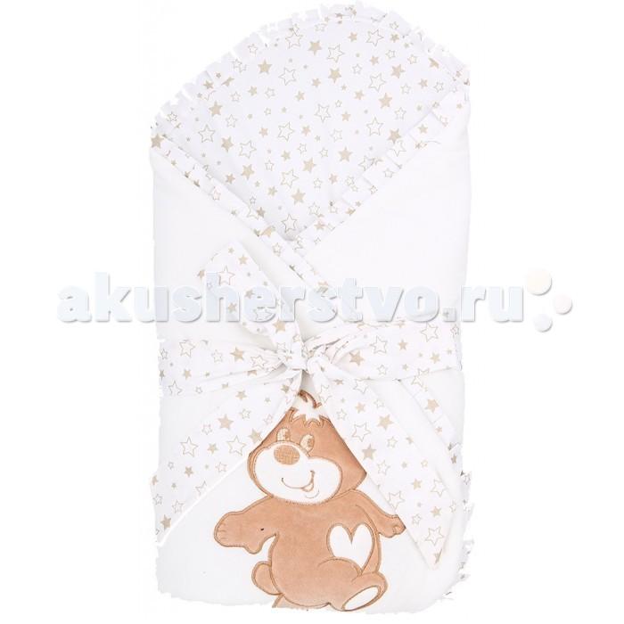 Детская одежда , Конверты на выписку Leader Kids Конверт-одеяло на выписку Мишка арт: 520506 -  Конверты на выписку