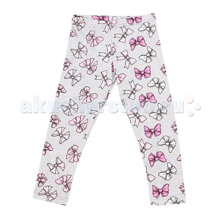 Брюки, джинсы и штанишки Leader Kids Лосины для девочки Бантики