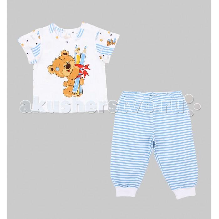 Пижамы и ночные сорочки Leader Kids Пижама для мальчика Мишка косолапый (футболка, брюки) мишка косолапый