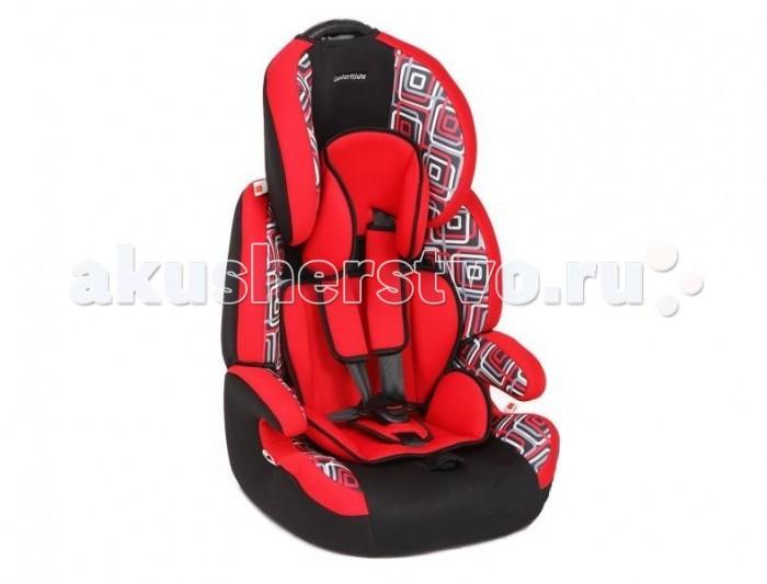 Автокресло Leader Kids КаравелКаравелАвтокресло Leader Kids Каравел группы 1-2-3 подразумевает комфортное собственное сиденье для маленького пассажира с весом от 9 до 36 кг.   Особенности: Устанавливается автокресло по ходу движения лицом вперед, совместимо с трехточечными ремнями безопасности автомобиля как с возвратным механизмом так и без него.  Оно имеет центральную систему регулировки натяжения ремней (регулировочный ремень находится внизу сиденья).  За надежность и безопасность ребеночка во время интереснейших путешествий отвечают пятиточечные ремни безопасности, которые регулируются по высоте. Они позволят зафиксировать кроху в оптимальном для его позвоночника положении и не дадут ему выпасть.  В автокресле предусмотрено все, что нужно для защиты и удобства малыша при поездке в автомобиле.  Спинку можно приводить в разные положения, что очень удобно для детишек разного возраста.  Отличным свойством данного кресла является возможность снять спинку и превратить сидение в бустер. Это очень удобно и экономично.  Глубокие боковины и подголовник защитят малыша от боковых ударов. Это является дополнительной мерой защиты Вашего ребенка.  Качественный материал, из которого изготовлено автокресло, обеспечивает долгую и надежную службу. Ткань сделана из натуральных волокон.  Разнообразие расцветок дает Вам возможность выбрать кресло именно под Ваш салон автомобиля.<br>