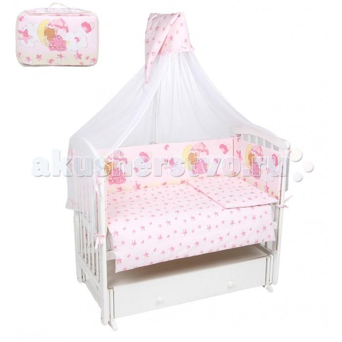 Комплект в кроватку Leader Kids Мишкин сон (7 предметов)
