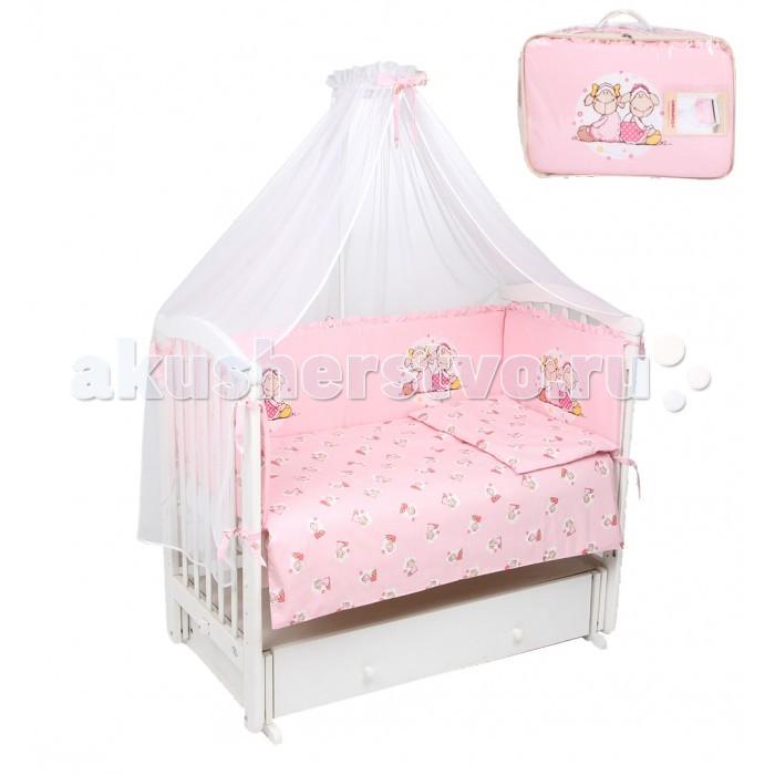 Комплект в кроватку Leader Kids Овечки (7 предметов)