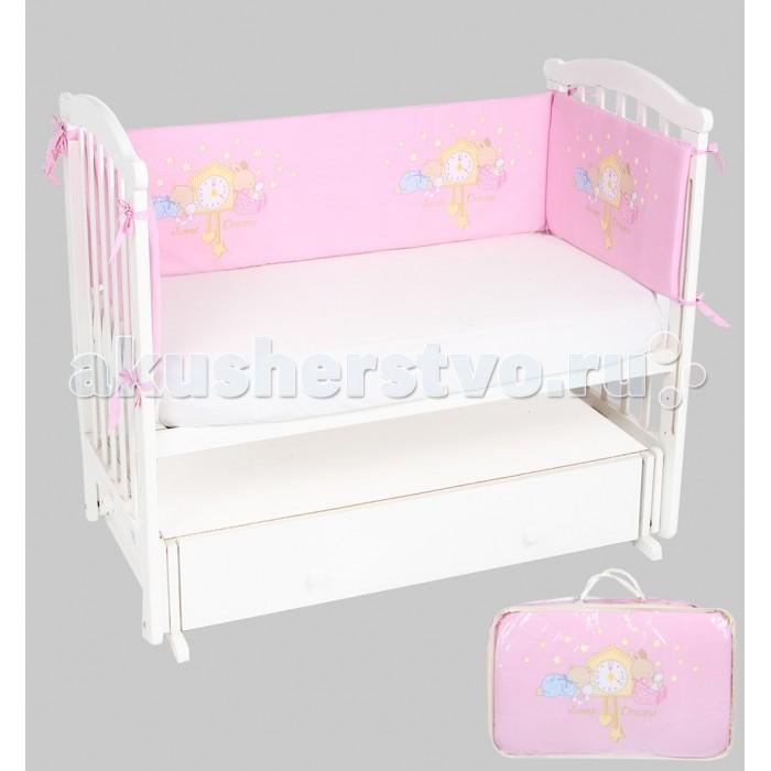 Постельные принадлежности , Бортики в кроватку Leader Kids Сказка на ночь арт: 337990 -  Бортики в кроватку
