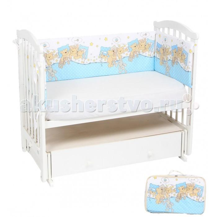 Бортики в кроватку Leader Kids Тихий час детские кроватки kitelli kito orsetto качалка