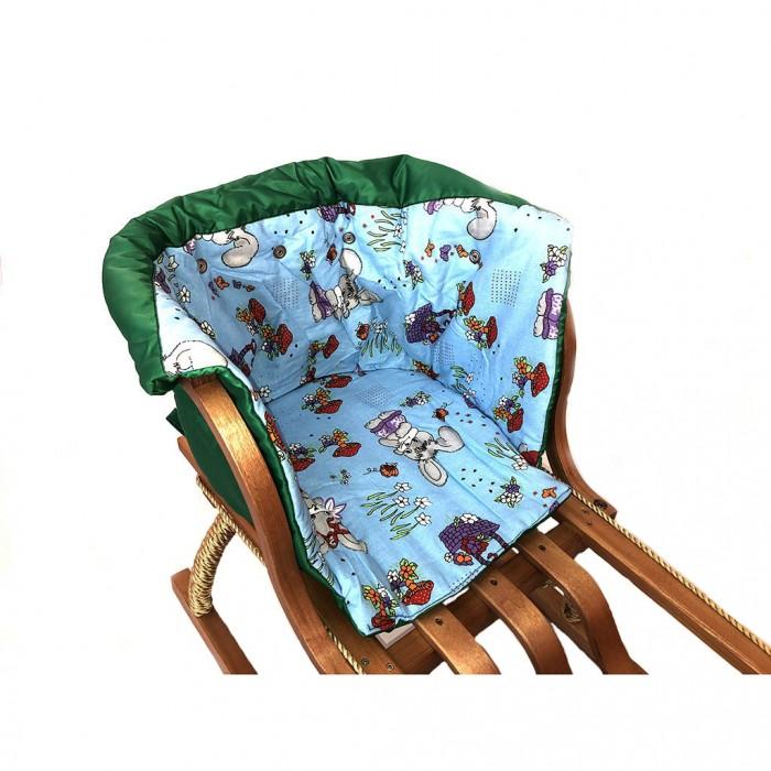 Купить Вкладыши для санок, Leda Матрасик для санок Малыш короткий Лесная сказка