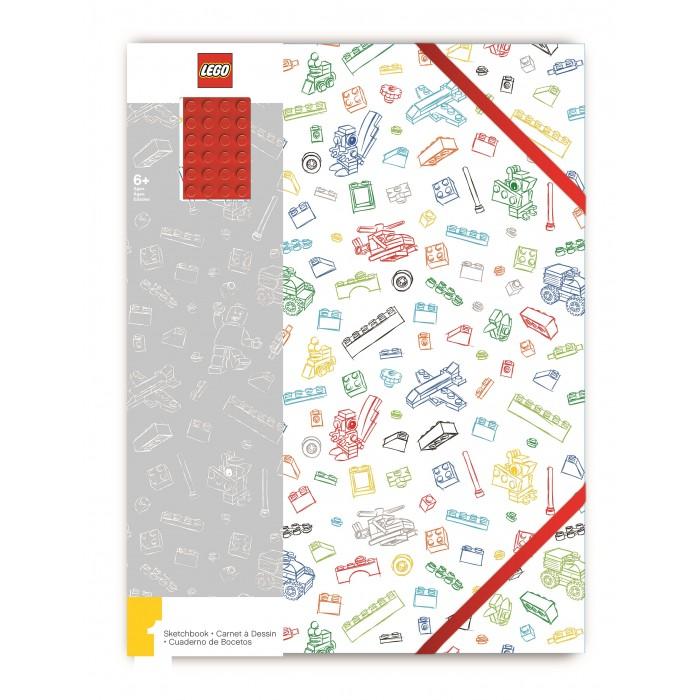 Принадлежности для рисования Lego Альбом для рисования A4 96 листов silwerhof альбом для рисования 40л а4 джунгли
