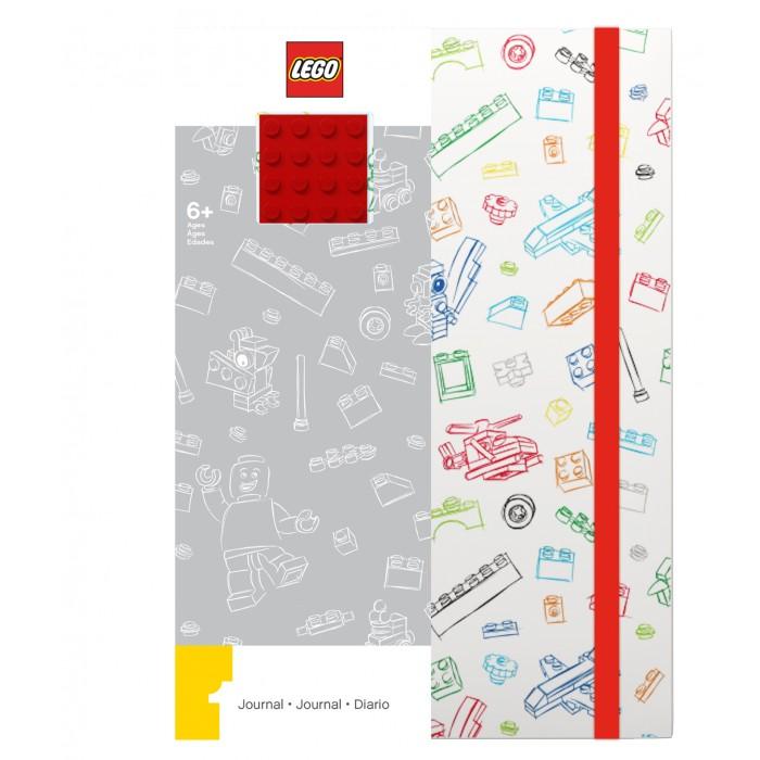Канцелярия Lego Книга для записей 96 листов линейка и резинка канцелярия lego книга для записей movie 2 duplo линейка 96 листов