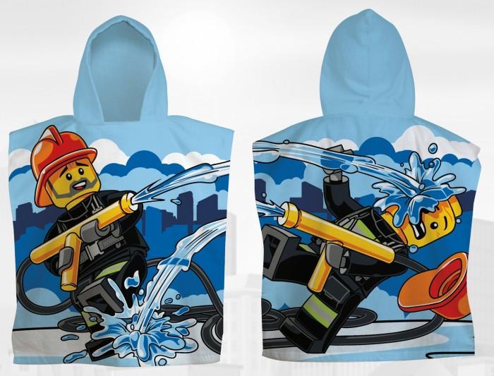 Полотенца Lego Пончо City Firehose 50х55 см пончо nabaiji пончо дет с капюшоном синее и зеленое с принтом дракон