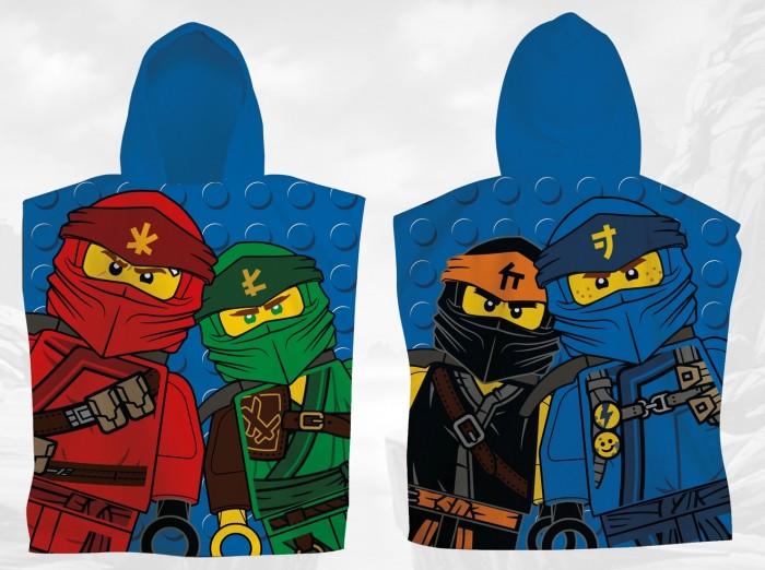 Полотенца Lego Пончо Ninjago Kick 50х55 см пончо nabaiji пончо дет с капюшоном синее и зеленое с принтом дракон